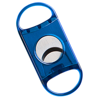 Neon Cigar Cutters Blue Guillotine