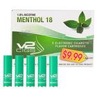 V2 Electronic Cigarettes Menthol Cartridge 18mg