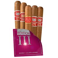 Cigar Samplers Romeo y Julieta Lovers Edition III