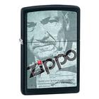 Zippo Founder Image Black Matte