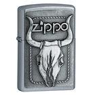 Zippo Bull Skull Emblem