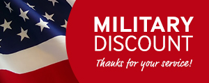 Military & First Responder Discount mobile banner