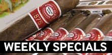 New money-saving cigar offer every Wednesday!