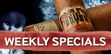 New money-saving cigar offer every Wednesday!