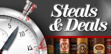 Premium cigars at drop-dead prices each day!