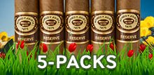 The largest selection of 5-packs online!