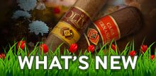 The newest and hottest premium cigar brands!