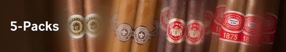 Cigar 5-Packs