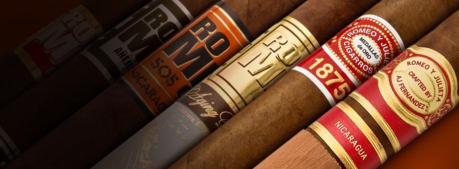 Huge Selection Of Romeo y Julieta Cigars